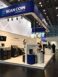 Scan Coin - Suzohapp and Scapp Retail at Euroshop 2017 in Düsseldorf